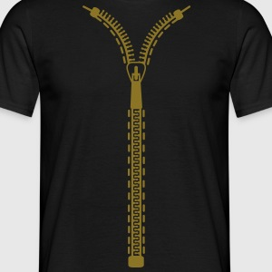 zip T-Shirts - Men's T-Shirt