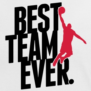 Best Team ever - Basketball T-shirts - Vrouwen contrastshirt