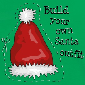 Build your own santa outfit T-shirts - Dame kontrast-T-shirt