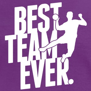Best team ever - Handball T-shirts - Vrouwen contrastshirt