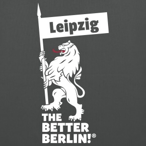 Beutel mit Leipzig THE BETTER BERLIN! - Stoffbeutel