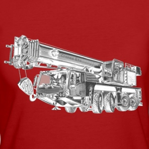 Mobile Crane 4-axle - Women's Organic T-shirt