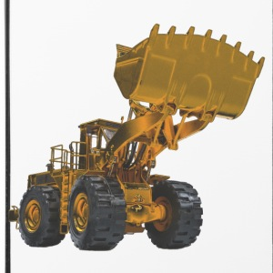 Old Mining Wheel Loader - Yellow Other - iPhone 4/4s Hard Case