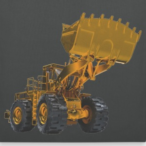 Old Mining Wheel Loader - Yellow Bags  - Tote Bag