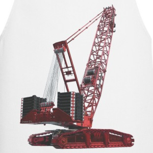 Crawler Crane 750t - Red  Aprons - Cooking Apron