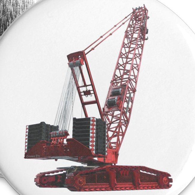 Crawler Crane 750t - Red