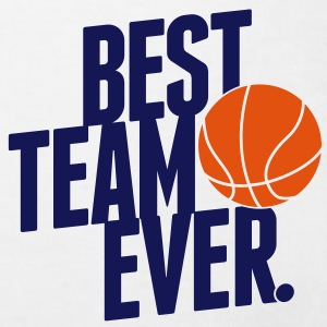 Best Team ever - Basketball Shirts - Kinderen Bio-T-shirt