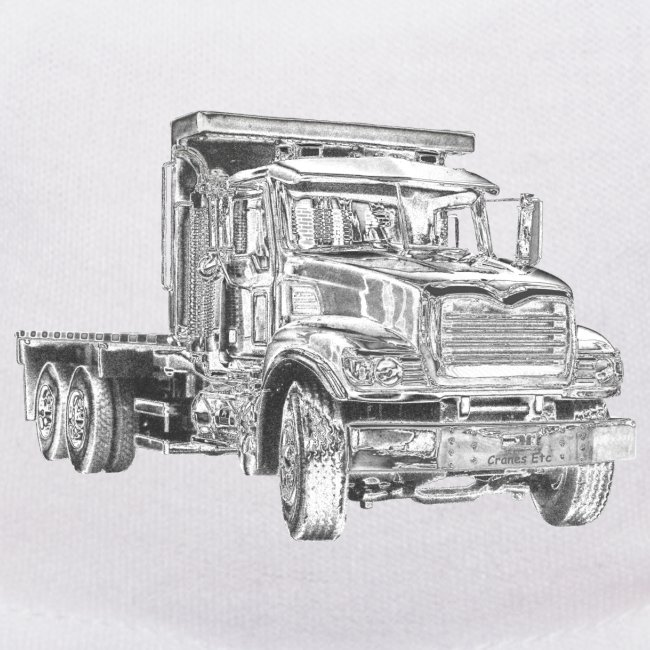 Flatbed truck - 3-axle