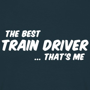 train driver - Men's T-Shirt