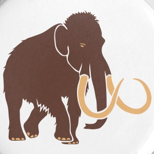 mammoet mastodonta steentijd olifant Buttons - Buttons groot 56 mm