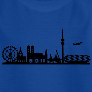 Skyline München Oktoberfest T-Shirts - Teenager T-Shirt