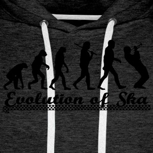 Evolution of Ska Pullover & Hoodies - Männer Premium Hoodie