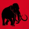 tier t-shirt mammut mammoth steinzeit jäger höhle elefant outdoor - Teenager T-Shirt