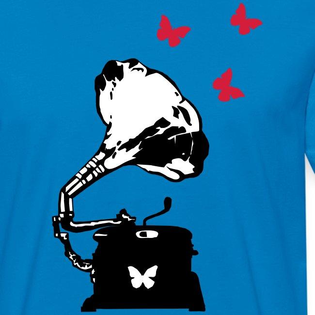 Sound Nomaden Grammophone & Butterflies Shirt Men