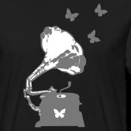 Design ~ Sound Nomaden Grammophone & Butterflies Shirt Men