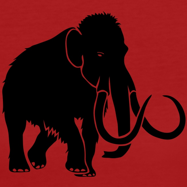 tier t-shirt mammut mammoth steinzeit jäger höhle elefant outdoor