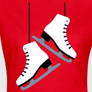 White Skates / skating T-Shirts - Women's T-Shirt