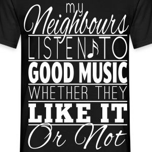Listen to music T-shirts - Mannen T-shirt