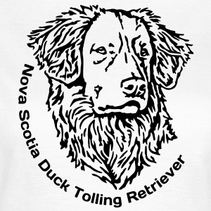 445 Nova Scotia Duck Tolling Retriever T-Shirts - Frauen T-Shirt