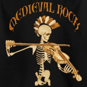 Knochengeiger / Skeleton Fiddler  – Medieval Roc - Teenager T-Shirt