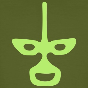 Vert mousse Mask Wrestling Tee shirts - T-shirt bio Homme