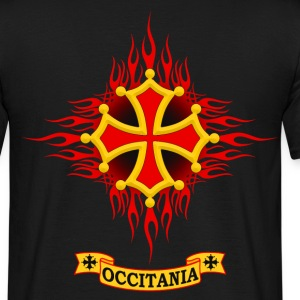 Occitania flaming Tee shirts - T-shirt Homme