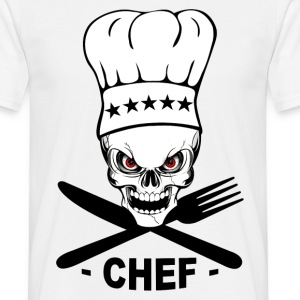 chef cuisinier Tee shirts - T-shirt Homme