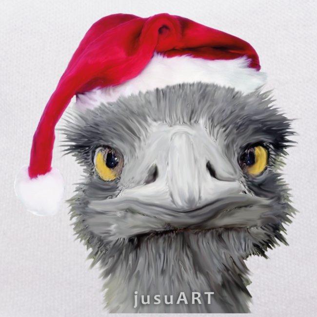 Teddy Weihnachten.Ostrich By Jusuart Vogel Strauss Bär Weihnachten Teddy