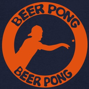 logo beer pong joueur player3 Tee shirts - T-shirt Homme col V
