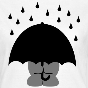 umbrella paraply T-shirts - Dame-T-shirt
