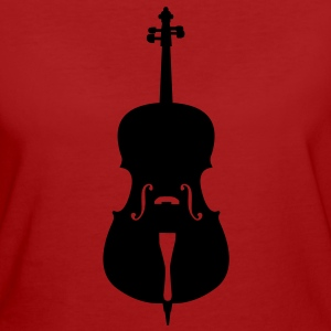 cello T-Shirts - Frauen Bio-T-Shirt