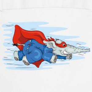 Heroes Sup-o-fant flying again!  Aprons - Cooking Apron