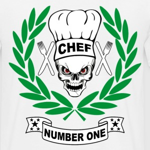 chef cuisinier 4 Tee shirts - T-shirt Homme