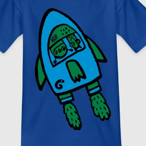 alien rocket Shirts - Kids' T-Shirt