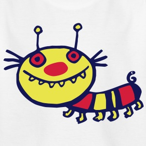 toothy caterpillar Shirts - Kids' T-Shirt
