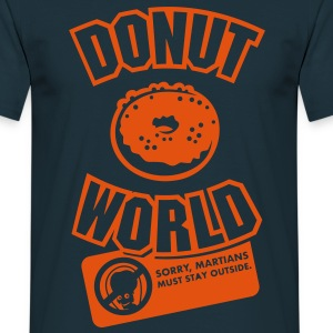 Donut World T-Shirts - Men's T-Shirt