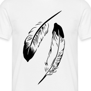 Feather T-Shirts - Männer T-Shirt