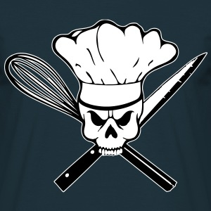 Cook Pirat or Cook Rebell skull T-Shirts - Men's T-Shirt