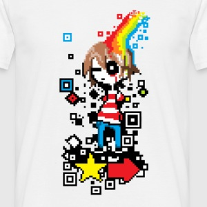 Pixel boy - Men's T-Shirt