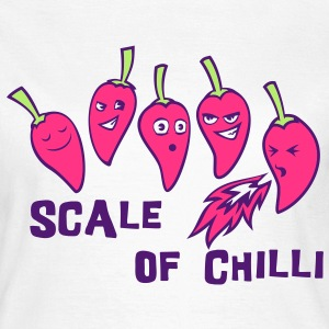scale of chilli T-Shirts - Women's T-Shirt