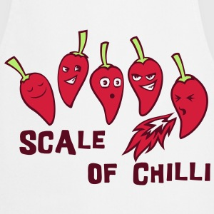 scale of chilli  Aprons - Cooking Apron