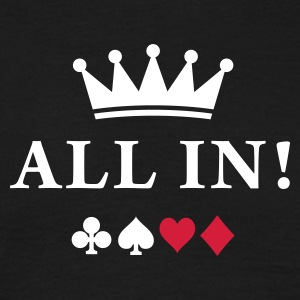 all_in T-shirts - Herre-T-shirt
