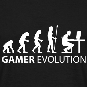 gamer evolution T-Shirts - Männer T-Shirt