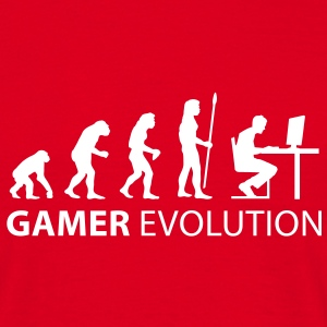 gamer evolution T-Shirts - Men's T-Shirt