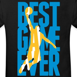 Best Game ever - Basketball Shirts - Kids' Organic T-shirt