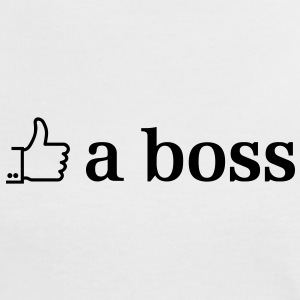 like a boss T-Shirts - Frauen Kontrast-T-Shirt