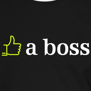 like a boss 2c Tee shirts - T-shirt contraste Homme