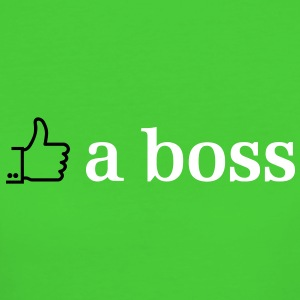 like a boss 2c T-Shirts - Frauen Bio-T-Shirt