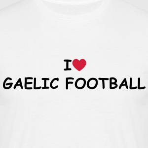 I love/heart Gaelic Football T-Shirt - Männer T-Shirt