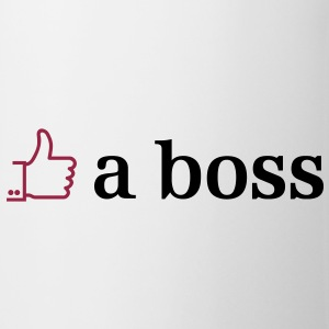 like a boss 2c Bottles & Mugs - Mug